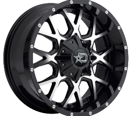 DROPSTAR OFF ROAD 645MB SATIN BLACK AND MACHINED