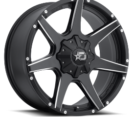 DROPSTAR OFF ROAD 647BM SATIN BLACK AND MACHINED