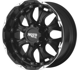 MOTO METAL MO959 Matte Black Machined