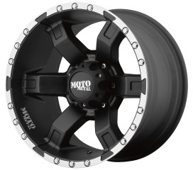 MOTO METAL MO967 Satin Black Machined
