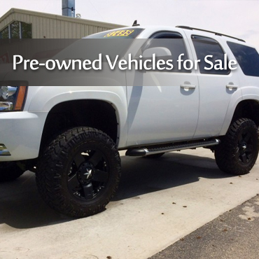 Pre-Owned Vehicles For Sale